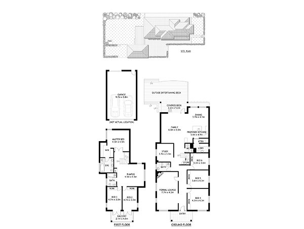 Chatswood Renovation Floorplan